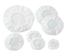 Fackelmann 44511 Topfdeckel, Kunststoff, mittelgroß, Weiß
