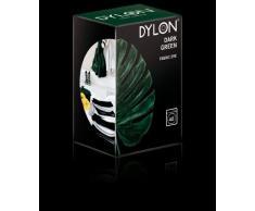 Dylon Tuch zum Färben von Textilien, zu verwenden in der Waschmaschine, verfügbar in 20 verschiedenen Farben Dunkelgrün