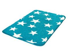 Meusch 2704766519 Badteppich Stars, 60 x 90 cm, türkis