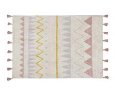 Lorena Canals Aztec waschbar Natur Teppich, Baumwolle, Vintage Nude, 120Â x 160Â x 30Â cm