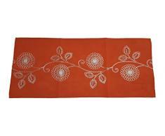 Duffi Home Tischläufer, Orange, 40 x 90 cm