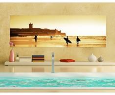 Apalis 42887 Leinwandbild Nummer 665 Surfer Beach, 120 x 40 cm