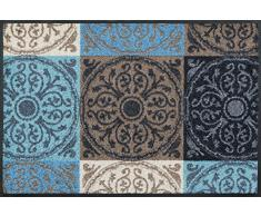 Wash + Dry Fußmatte, Acryl, Bunt, 50x75 cm
