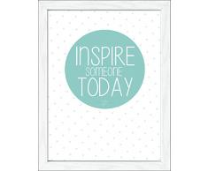 Pro-Art an544b2 Wandbild Scandic-Living Inspire someone today 35 x 45 cm