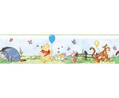 RoomMates RMK1638BCS RM - Disney Winnie Puuh Bordüre Wandtattoo, PVC, Bunt, 23.5 x 13 x 2.5 cm