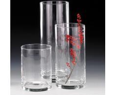 Sandra Rich Vase, Glas, transparent, 20 x 10 x 10 cm