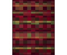 biederlack Überwurf, Baumwoll-Mischgewebe, 150 x 200 cm, Rot
