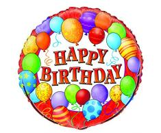 Luftballons Geburtstag Folienballon One Size Herzlichen Glückwunsch zum Geburtstag