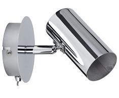 Paulmann 66693 Spotlight Zylo max1x10W GU10 Chrom 230V Metall 666.93 Deckenleuchte Lampe LED Deckenlampe Deckenstrahler