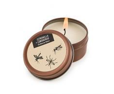 Pajoma Duftkerze Anti Mücke in der Dose mit hohem Duftanteil, Premium Qualität extra für Weihnachten, Brenndauer: circa 7 Stunden