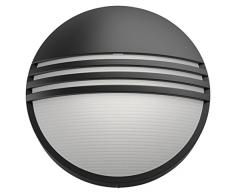 Philips myGarden LED Wandaussenleuchte Yarrow, 6W, schwarz, 172963016