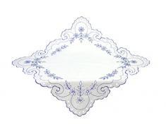 Bellanda Tischdecken, Polyester, weiß, 85x85 cm