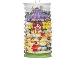 Kogler Laterne Zirkus, schwer entflammbar, im Beutel, Karton, Papier, gemischt, Einheitsgröße