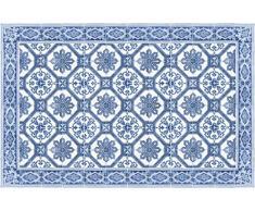 Vilber OPORTO DU 03 100X155 Teppich, Vinyl, Mehrfarbig, 100 x 155 x 0,22 cm