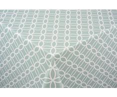 Venilia Tischdecke 140cmx200cm Tischdecke, PVC-Polyester, Circle Mint, 1.5 x 140 x 200 cm, 1 Einheiten