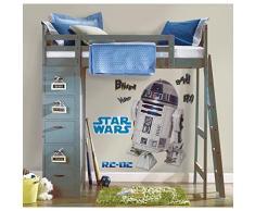 Joy Toy 15920 Wandtattoo groß Star Wars R2-D2 2 Blätter mit 9 Elementenn