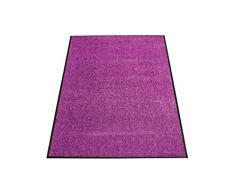Miltex 22030-6 Schmutzfangmatte Eazycare, 91 x 150 cm, waschbar, lila