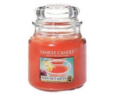 Yankee Candle 1352129E Passionfruit Martini Duftkerze, Glas, rot, 13,8 x 9,5 x 13,8 cm