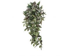 Mica decorations 953284 Tradescantia Haengend L80B30H15 Kunstpflanze, Polyester, grün, 80 x 30 x 15 cm