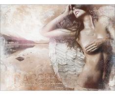 Pro-Art cp312w5 Wandbild Canvas-Art Passion, 116 x 84 cm