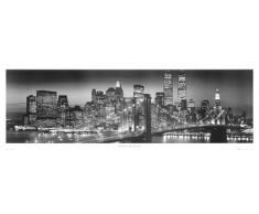 1art1 37052 New York - Manhattan Bei Nacht Tür-Poster (158 x 53 cm)