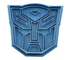 Cuticuter Transformers Autobot Ausstechform, Blau, 8 x 7 x 1.5 cm