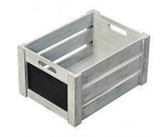 Kesper Aufbewahrungsbox, Holz, braun, 30,5Â x 20,5Â x 16Â cm