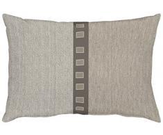 APELT Milano_35x50_87 Kissen, Polyester-Baumwolle, braun, 50 x 35 x 10 cm