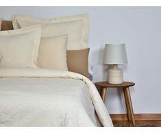 MI CASA Tagesdecke, Baumwolle, 180 x 270 cm, cremefarben