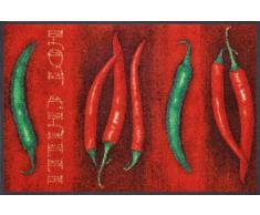 Wash+Dry Fußmatte Hot Chili 50x75 cm