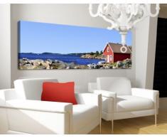 Apalis 42900 Leinwandbild Nummer 671 Urlaub im Norwegen, 120 x 40 cm