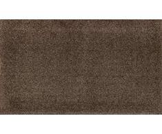 wash + dry 075776 Fußmatte, 70 x 120 cm, espresso braun