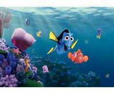 AG Design Disney Finder Nemo, Vlies Fototapete, 4 Teile, Multicolor 0,1 x 360 x 270 cm