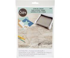 Sizzix 660522 Standard Schneidetische, Edelstahl, Transparent / Mint, 22,2 x 15,6 x 0,3 cm, 1 Stück