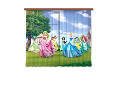 Gardine/Vorhang FCC xl 6322 Kinderzimmer Disney Princess Prinzessin