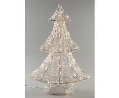Kaemingk LED Acryl Baum, aussen, Aussentrafo, 80 warmweiße LED, 60 cm hoch 491972