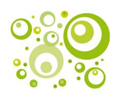 Eurographics DS-DT2061 Deco Sticker / Wandtattoo Lime Green Bubbles 50x70cm