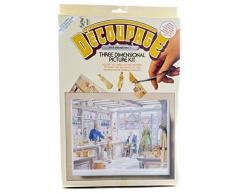 Backform Master Der Apotheke Decoupage Kit, gemischte Farbe