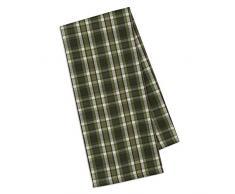 Design importen Mountain Kiefer Couchtisch Baumwolle Bettwäsche, baumwolle, Cascade Plaid, 18 x 28 - Dishtowel