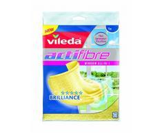 Vileda Reinigungstuch für Glas Actifibre, gelb