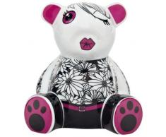 Ritzenhoff 2590010 Mini Teddy Bär D. Kupitz H12 Bank Spardose, Porzellan, bunt, 7,5 x 9,5 x 10,5 cm