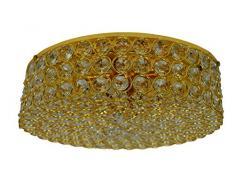 RABALUX Lennard Deckenleuchte, Metall, G9, 40 W, gold-transparent, 300 x 300 x 100 cm
