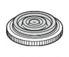 Silit Ersatzteil Deckelstielgriffschraube Schnellkochtopf Sicomatic-E Kunststoff schwarz