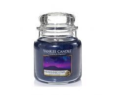 Yankee Candle 1344784E Duftkerze Glas, 9,50 x 9,50 x 13,80 cm, Nachtblau