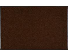 Wash+Dry Fußmatte Dunkelbraun 50x75 cm