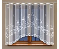 HAFT® Gardine, Polyester, Weiß