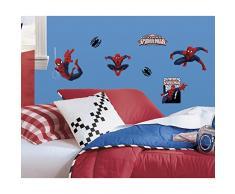 RoomMates RM-Marvels Spider-Man Wandtattoo, PVC, bunt, 29 x 13 x 2.5 cm