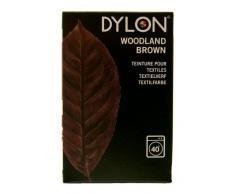 Dylon Tuch zum Färben von Textilien, zu verwenden in der Waschmaschine, verfügbar in 20 verschiedenen Farben Woodland Brown
