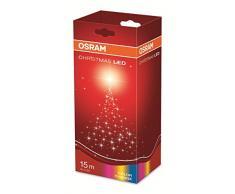 OSRAM LED Lichterkette für Innen- und Außenanwendung mit 40 Brennstellen / 2,8 Watt, Plastik, 1,60m Länge, Farbwechselndes Licht