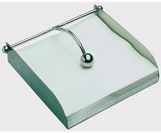 APS Serviettenhalter, Edelstahl, Silber, 28 x 35 cm